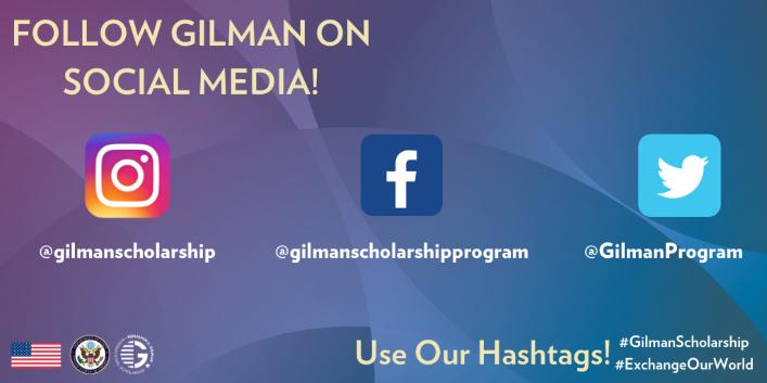 gilman social media